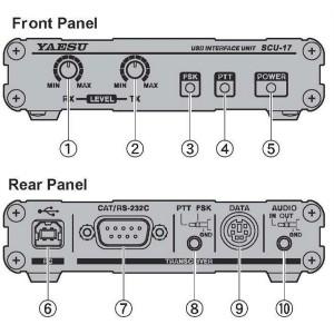 Yaesu SCU-17 USB Interface kit