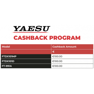 Yaesu Cashback Spring 2021